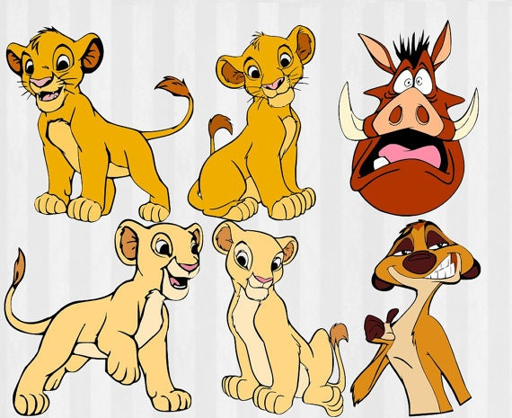 lion king svg lion king clipart simba svg nala svg