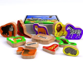 What's My Name? - Wild Animals Playset