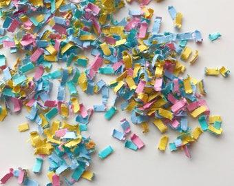 Baby shower pastel confetti mix, table confetti,pink confetti, blue confetti