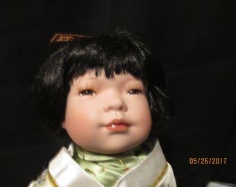 Japanese kind and polite spirited doll Saya