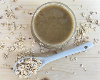 Oatmeal Therapy Face Mask | 100% Natural | Serenity + Blossom