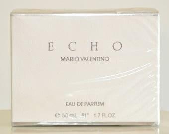 Echo Mario Valentino for woman Eau de Parfum Edp No Spray 50ML 1.7 Fl. Oz. Rare Vintage Old 1989
