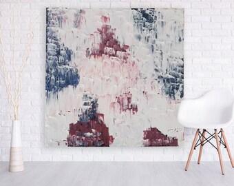 Abstract Art by Hanifah Tohir 'Hidden Rose Bush'