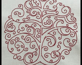 """Embroidery File """"Tree of Life"""""""