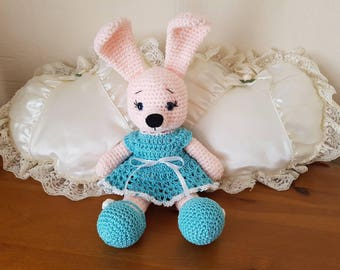 Hand Crocheted soft toy Bunny