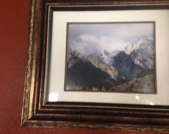 High Sierra Photo framed