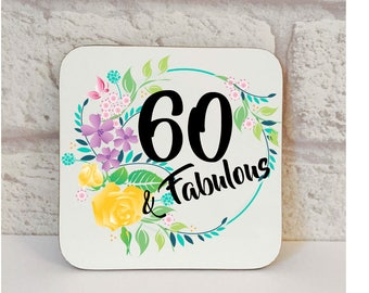 60th Birthday Gift, Fifty And Fabulous Gift, 60th Birthday, Fiver Friday, 60th Present,  60th Birthday Gifts For Women, 60th Gift Set, Gift.