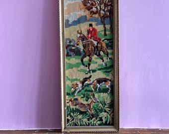 Vintage horses  tapestry