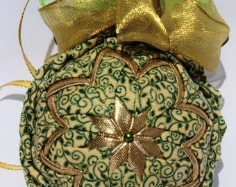 Quilted Ornament