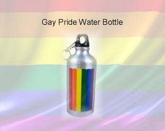 Gay Pride Water Bottle