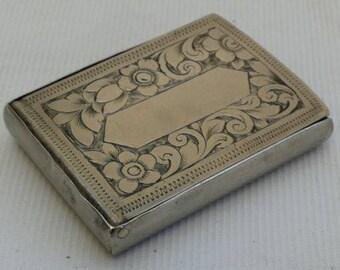 Vintage Art Nouveau 1892 Victorian Vesta