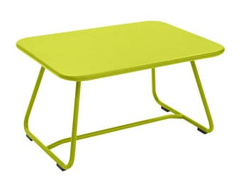 Retro sixties low table - Fermob colorful patio table