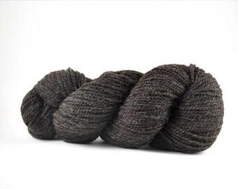 Worsted weight Shetland yarn Silt