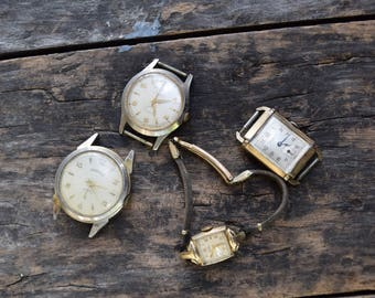 Vintage Watches lot of 4