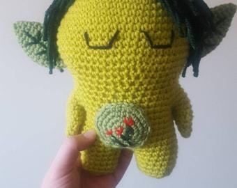 Crochet forest elf~ handmade toy