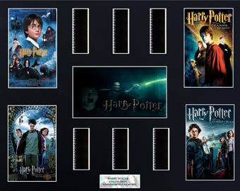 Harry Potter Collection 16 x 20 Film Cell