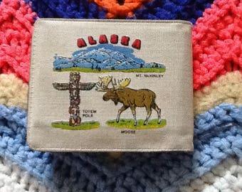 Vintage Alaska Souvenir Wallet
