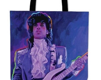 "Carry bag ""Prince - purple rain"" by Howie Green"