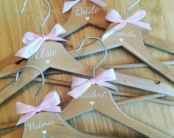 Adult Bridal/Wedding hangers (single)