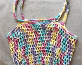 Hand Crocheted Market Bag