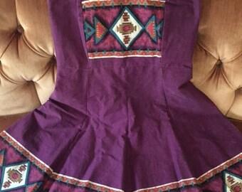 Vintage Adobe Dress