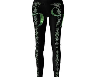 Die Slowly Vulcan Leggings