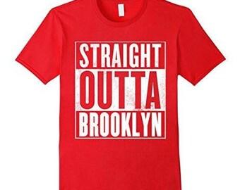 Brooklyn T-Shirt - Straight Outta Brooklyn Shirt