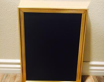 Gold Framed Chalkboard; Gold Wedding Chalkboard; Wedding Sign; Chalkboard Sign; Chalkboard Frame