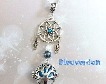 Tree of life turquoise and dream catcher pregnancy's Bola
