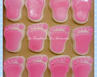 10 memories for all occasion, baby footprint soaps