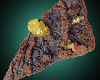 Adamite; Ojuela Mine, Mapimi, Durango, Mexico  --- minerals and crystals