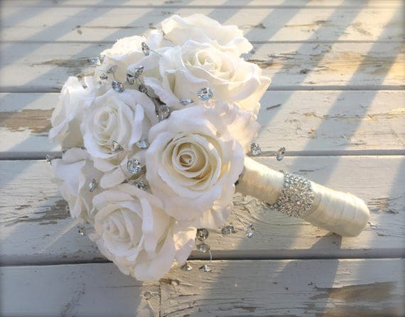 wedding bouquets with bling wedding bouquet bridal bouquet bling bouquet wedding 8537