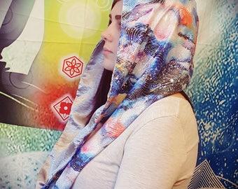 Galaxy Festival/Rave Hood Reversible