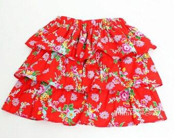 no 275 Gemma Ruffled Skirt (6M - 5Y) PDF Pattern