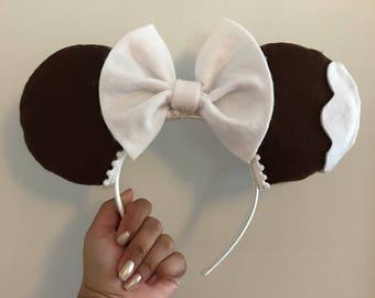 Mickey ice cream bar inspired ears