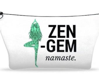 Small Zen Gem Makeup Bag