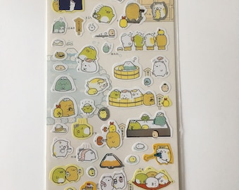 Cute Molang Rabbit Diary Stickers Decoration Stationery Label Sticker - Design 4