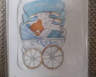 Congratulations on the birth of your baby boy