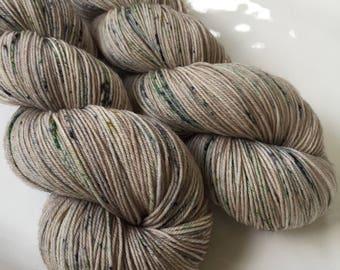 Hand dyed yarn - Second Chance - Moor - 100% superwash merino wool - fingering weight sock yarn