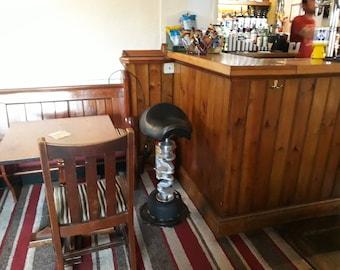 Motorcycle bar stool