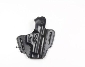 Genuine Leather Belt ( OWB) Gun Holster For Beretta 84/85
