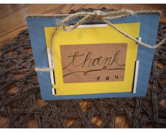 Thank You! //simple thank you card