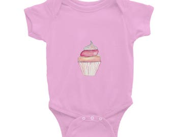 Holla Back Co. Cupcake Onesie
