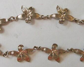 Silver Violet Bracelet