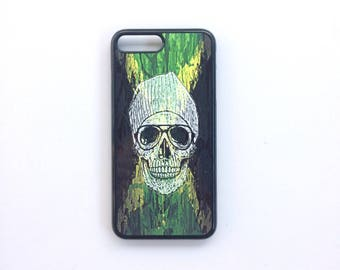Phone case Iphone 7 + hard plastic hard black