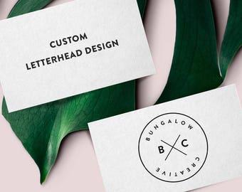 Custom Letterhead Design