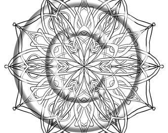 Mandala Madness An Adult Coloring Book