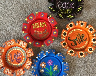 Set of 5 -  5 inch Magnets or Coasters