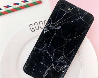 iPhone 8 plus case iPhone 7 Plus case iPhone 6s Plus case marble iPhone case iPhone 7 case iPhone 6s case black iPhone 8 case black marble