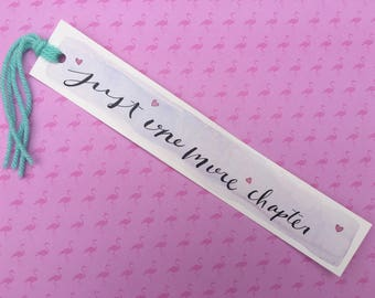 WaterColor BookMark - Chapter